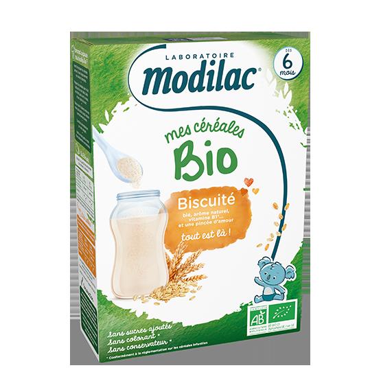 Modilac Céréales Bio Biscuité 250G